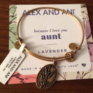"""Alex and Ani - """"Aunt"""" bracelet"""